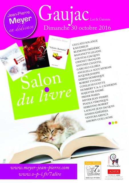 Salon du Livre de GAUJAC