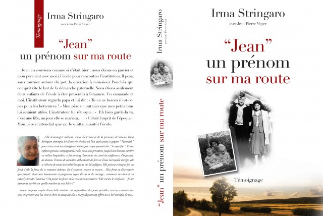 """"""" Jean, un prénom sur ma route """" - Biographie"""