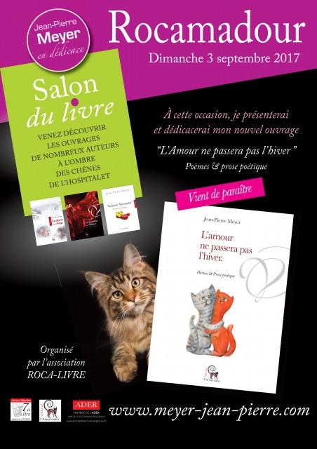 Retrouvons-nous au Salon du Livre de Rocamadour dimanche 3 septembre...