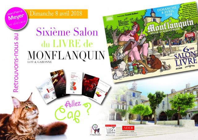 Retrouvons-nous le dimanche 8 avril dans la magnifique bastide de Monflanquin. Allez cap ?