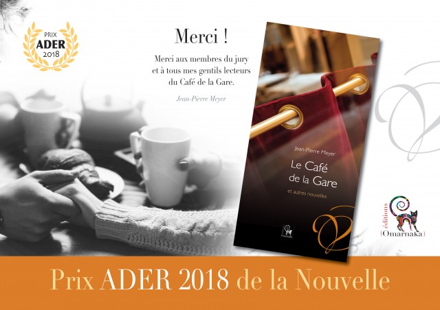 Prix ADER 2018 de la Nouvelle.