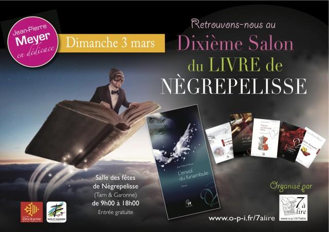 10ème Salon du Livre de Nègrepelisse
