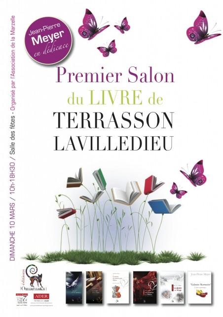 Salon du Livre de TERRASSON LAVILLEDIEU